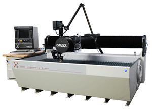 Omax Waterjet machine